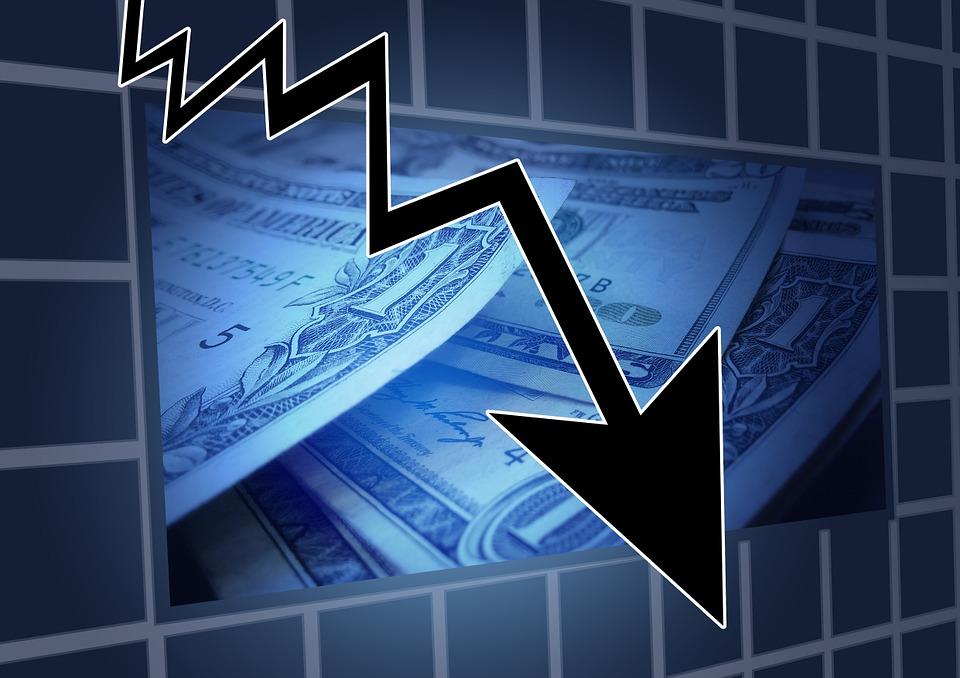 Trend Symbol Stock Exchange Financial Crisis Arrow